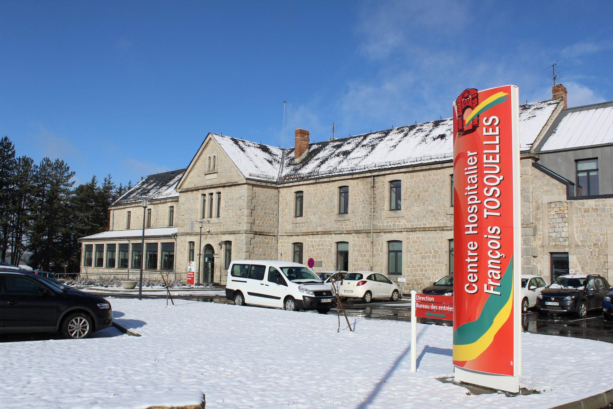 Vue enneigée du centre Tosquelles à St Alban