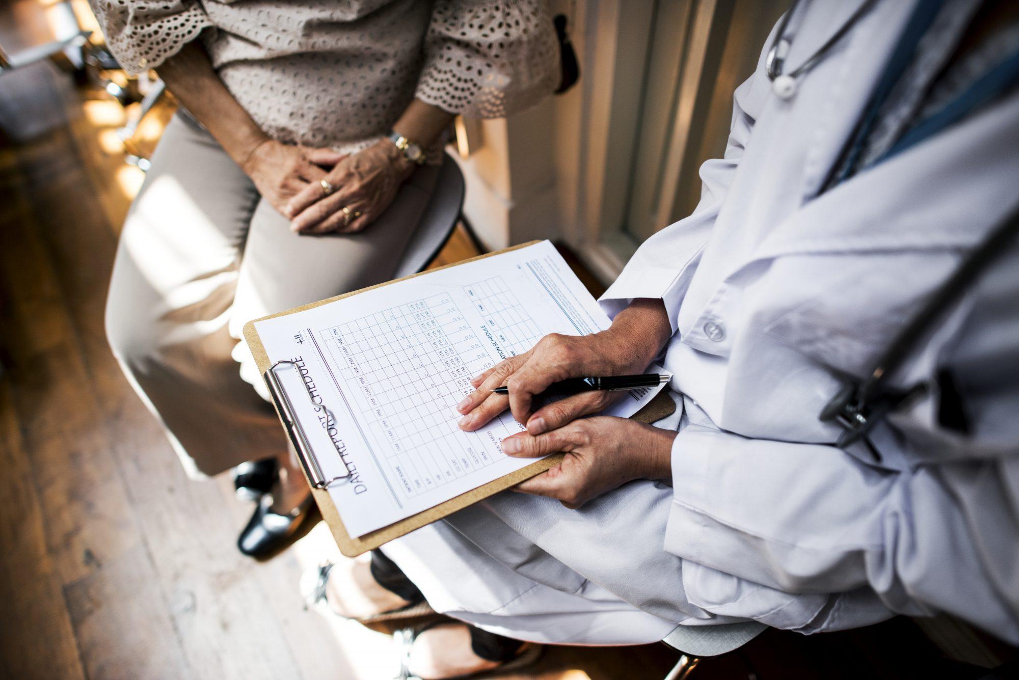 consultation médicale au CHFT