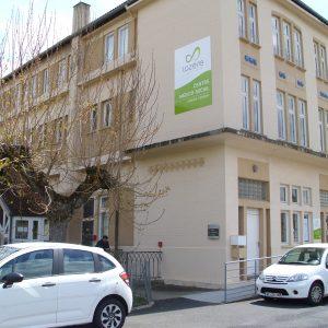 Vue du bâtiment du Centre Médico Psychologique enfants de Langogne