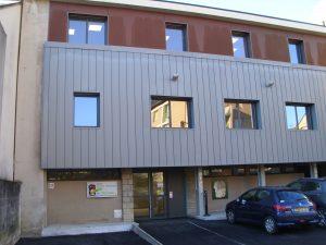 Vue du bâtiment du Pré Vival Centre Médico Psychologique de Mende
