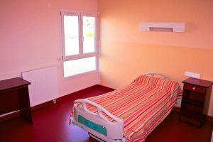 Chambre en géronto-psychiatre de l'EPSM Lozère