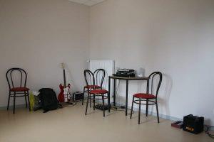 Salle de musique de l'hôpital de Saint Alban sur Limagnole