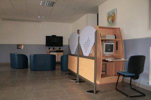 Salle de télévision EPSM Lozère