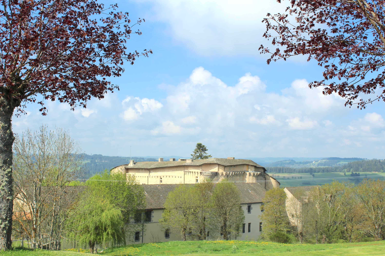 Chateau de Saint Alban sur Limagnole en Lozère