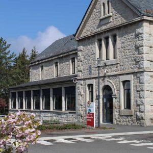Accueil bâtiment administratif EPSM Lozère