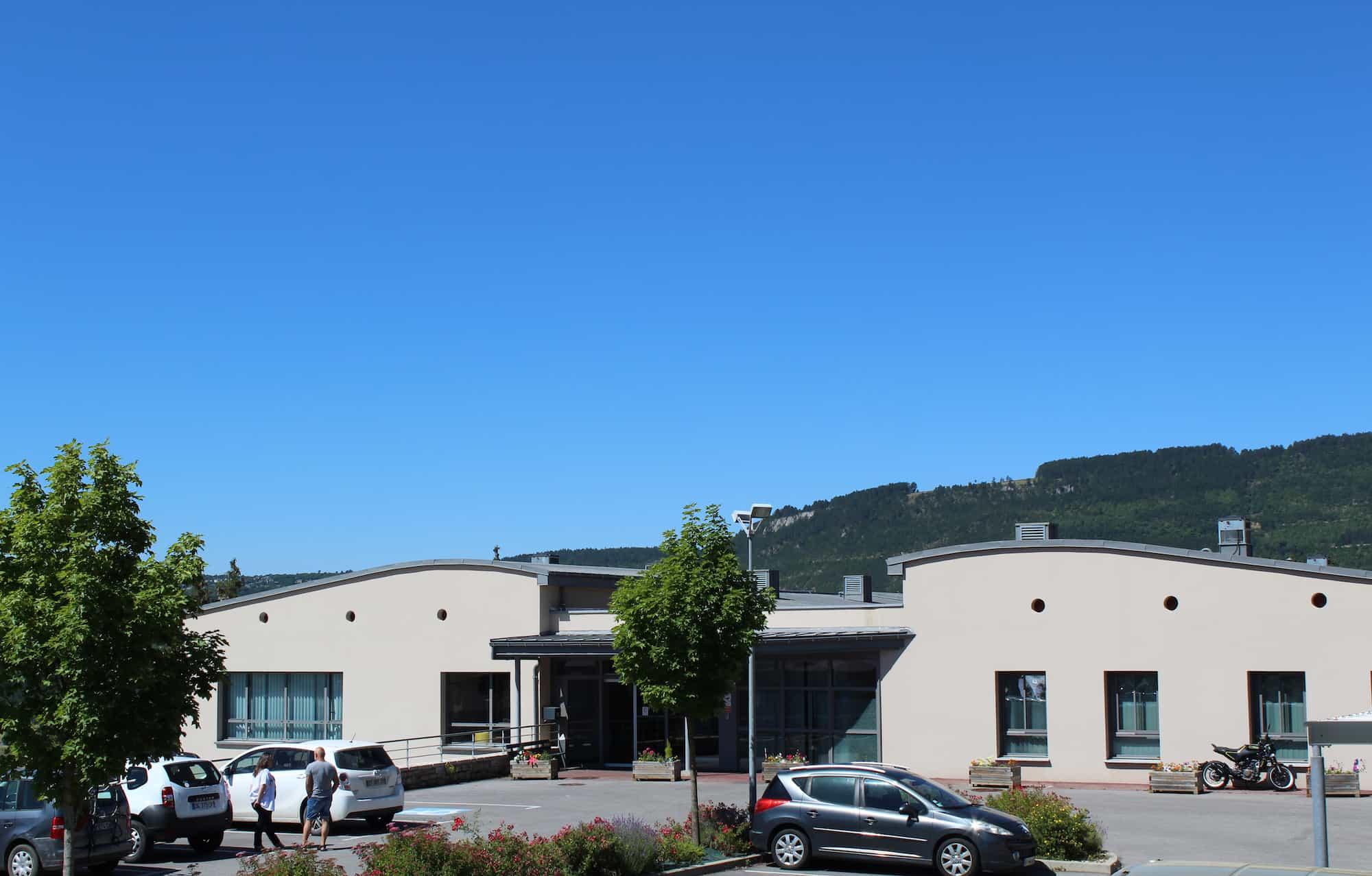 Unité d'admissions psychiatriques à Mende en Lozère